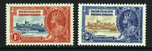 BECHUANALAND PROTECTORATE KG V 1935 1d. & 3d. Silver Jubilee SG 111 & 112 MINT