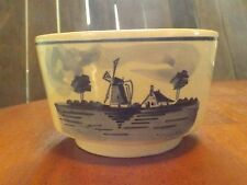 Delft Blue Bowl - Planter - Hand Painted - Made in Holland