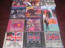 BRITISH ROCK 60'S COLLECTION OF 26 CD'S  400 TRACKS ALL ORIGINAL ARTISTS SET