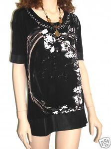 Traumhaft Biba Shirt CS 035 Black Neu Gr. 0 XS 34-36