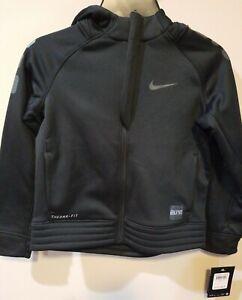 Nike Elite Therma Fit Youth Full-Zip Hoodie Jacket Size 6 (NEW)