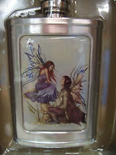 New Amy Brown Always Stainless Steel 3Oz Flask Fairy Faery