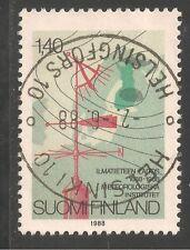 Finland #767 (A416) Vf Used - 1988 1.40m Meteorological Institute, 150th Anniv