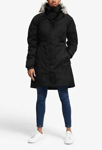The North Face Black Women's Arctic Parka Size MEDIUM Goose Down, Waterproof