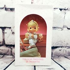 New ListingVintage 1987 Precious Moments Figurine May Your Christmas Be Delightful in Box