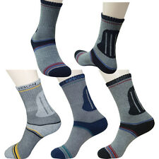 3Pairs Lot Mens Outdoor Camping Trekking Hiking Socks Performance Fabric ATB 100