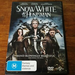 Snow White and the Huntsman DVD R4 VERY GOOD - FREE POST