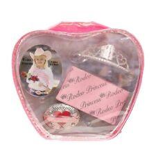 Rodeo Princess Gift Set - Cowgirl Crystal Heart Tiara ~ Buckle ~ Queen Sash