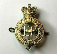 1953 onwards Household Cavalry Cap Badge Anodised Metal Queens Crown