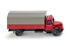 WIKING Modell 1:160/N Feuerwehr-Pritschen-LKW (Magirus) rot #096501 NEU/OVP