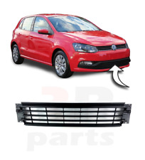 FOR VW POLO 6R 2014-2017 FRONT BUMPER LOWER CENTER GRILL BLACK TRIM 6C0853677A