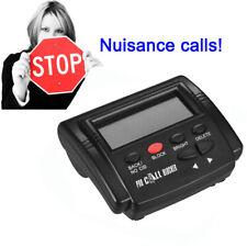 US SHIP Caller ID Box Call Block 1500 Capacity Telephone Defense FSK/DTMF M7H8