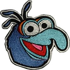 Gonzo Face Embroidered Patch Kermit the Frog Miss Piggy Animal Fozzie Bear