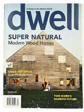 Dwell Magazine April 2008 Super Natural Modern Wood Homes V8 N5 Collectable