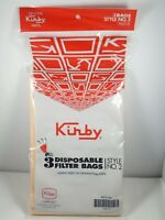 Kirby Style No 2 Vacuum Bags Part 19068103 Genuine Filter 3 Bags NEW SMOKE FREE