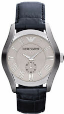 Emporio Armani Classic Navy Blue/Silver/White Quartz Men's Watch AR1666