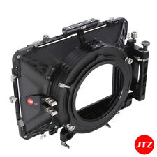 "JTZ DP30 5.65x5.65"" Film Matte Box Carbon Fiber 15mm/19mm For ARRI Canon Sony"