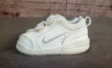 Kids Toddler Nike White Little Pico III Sneakers/Shoes Sz 4C 325043-101