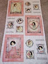 All For Love Panel Cotton Fabric Santoro Gorjuss .66 Yd L Quilting Treasures