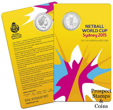 2015 Twenty Cent (20c) Netball World Cup Uncirculated Australian Decimal Coin