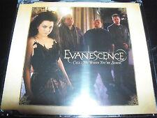 Evanescence Call Me When You're Sober Australian Enhanced CD Single