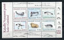 Groenlandia 1991 BF 3 Fauna marina foche MNH