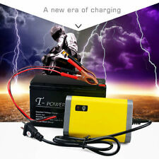 Car Battery Charger Motorcycle Accessory 12V 2A Automatic Power Supply F7