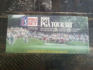 1991 Proset Golf PGA Tour Factory Sealed Set #1-285