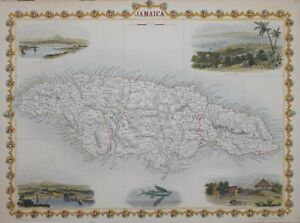 JAMAICA BY JOHN TALLIS 1850