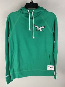 Mitchell & Ness Womens Philadelphia Eagles Hooded Sweatshirt Size Small