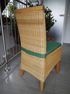 Stuhlkissen 40 x 40 x 4 cm Sitzkissen grün mit Klettband