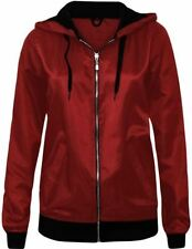 Polyester Hood Parkas for Women