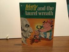 ASTERIX AND THE LAUREL WREATH  Goscinny & Uderzo 1976 VIntage Hardcover Comic