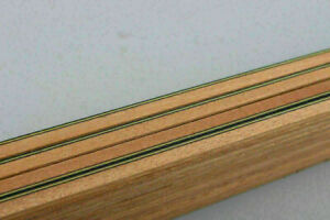 25Strip Guitar Luthier Supply Purfling Binding Marquetry Inlay 840x6x1.5mm