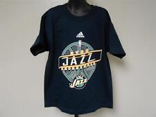 NEW Utah Jazz Youth S Small (size 8) Adidas Navy Blue Shirt