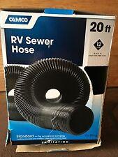 Camco Rv Black Sewer Hose 20'