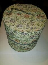 Vintage Carry All Large Hat Box Travel Wig Case