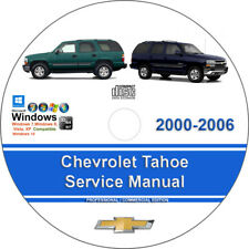 service repair manuals for chevrolet tahoe for sale ebay rh ebay com 2004 chevrolet tahoe repair manual pdf 2004 chevy tahoe repair manual pdf