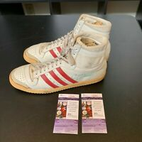 Cedric Maxwell Signed Pair Of (2) 1980's Game Used Basketball Shoes With JSA COA