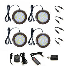 Lightkiwi T1792 3.5 inch Cool White LED Puck Lights - 4 Pack Kit