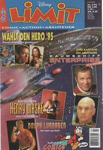 Limit Disney Nr. 2  1995 Comic Action Abenteuer, DIN A4, Ehapo-Verlag Stuutgart