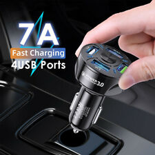 Quick Charge 3.0 In Car Charger 4 Ports USB Qualcomm QC Fast Charging Adapter AU