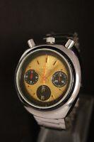 Citizen Bullhead Rabbit Chronograph Automatic 1967 Nice Watch 8110 Vintage