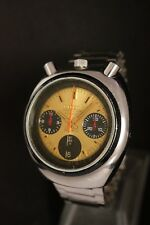 Citizen Bullhead Rabbit Chronograph Automatic 1967 Nice Watch 8110 Vintage