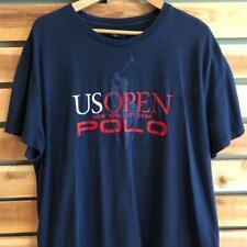 Y2K Polo Ralph Lauren 2006 Us Open Vtg Tennis New York Pony T Shirt L