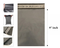 """6 x 9"""" Grey Mailing Bags Strong Parcel Postage Plastic Postal Poly Self Seal Bag"""