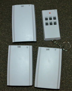 Master Electrician RC-019/TR-016N Indoor Wireless Remote Control, 3-Pack