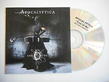 APOCALYPTICA : END OF ME [ CD SINGLE PROMO PORT GRATUIT ]