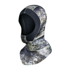 3mm Neoprene Scuba Diving Hood With Shoulder Spearfishing Hat Winter Wetsuit Cap