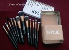 Kylie's Black Professional Makeup Cosmetic Brushes 12 pieces set U.S. SELLER.!